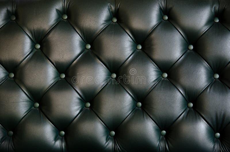 Leertextuur van stoelrug stock fotografie