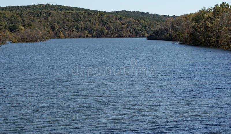 Leesville湖,弗吉尼亚,美国 库存照片