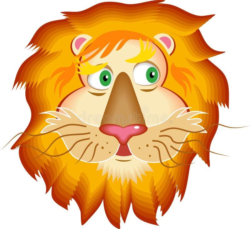 Download Leeuw vector illustratie. Illustratie bestaande uit nave - 43016
