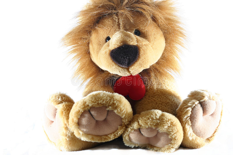 Download Leeuw stock afbeelding. Afbeelding bestaande uit liefde - 46001