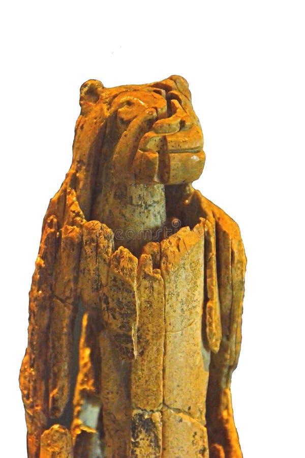 Leeuw-mens royalty-vrije stock foto's