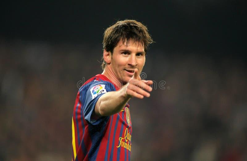Leeuw Messi van FC Barcelona royalty-vrije stock foto's