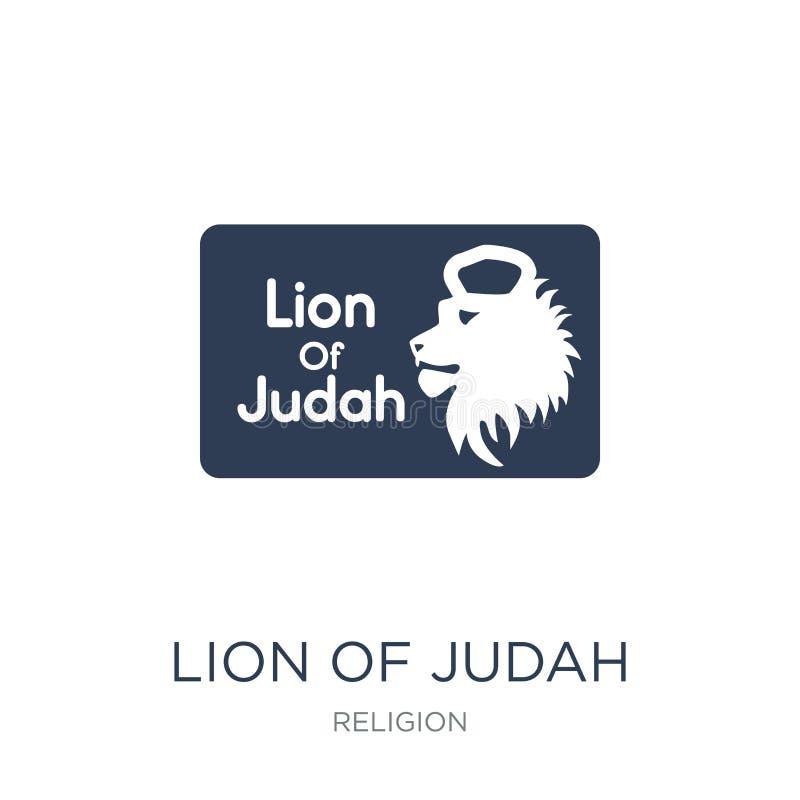 Leeuw van Judah-pictogram  royalty-vrije illustratie