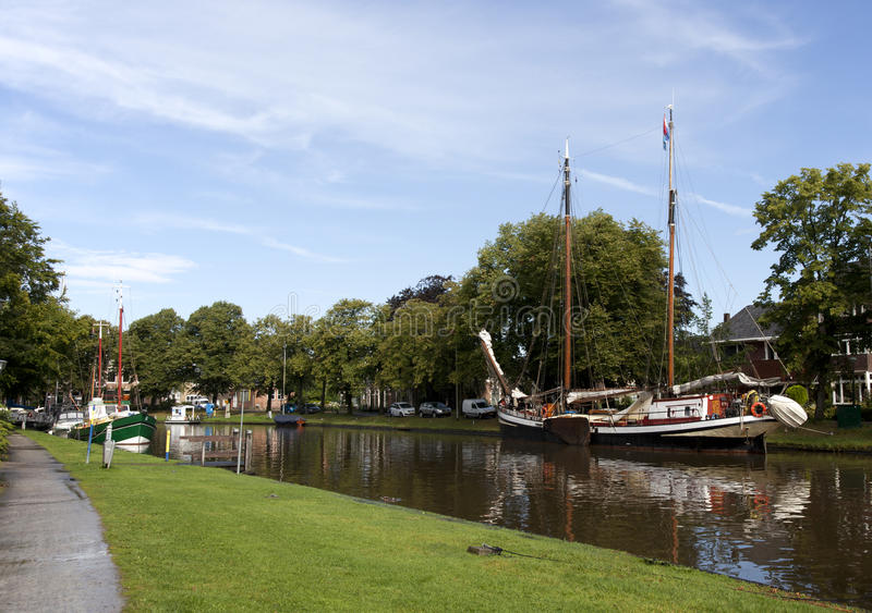 Download Leeuwarden stock photo. Image of netherlands, water, quayside - 27464168