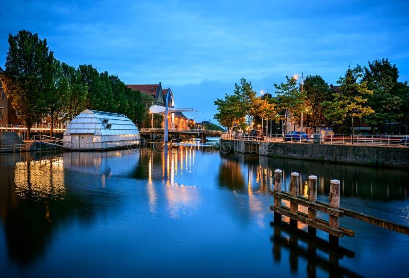Leeuwarden Nederländerna arkivfoton