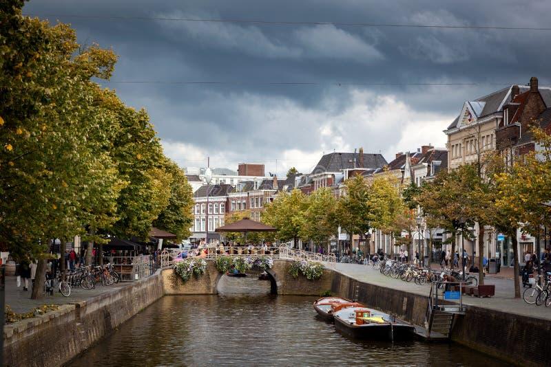 Leeuwarden Town Netherland royalty free stock image