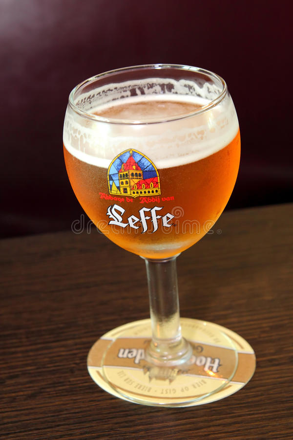 Leffe Belgian Beer royalty free stock images
