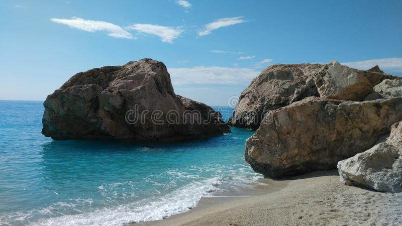 Lefkada greece sea ionian islands. The best ionian island. this is lefkada greece sea , ocean, ionian islands flawless, tourism, holidays, discover , dream stock image