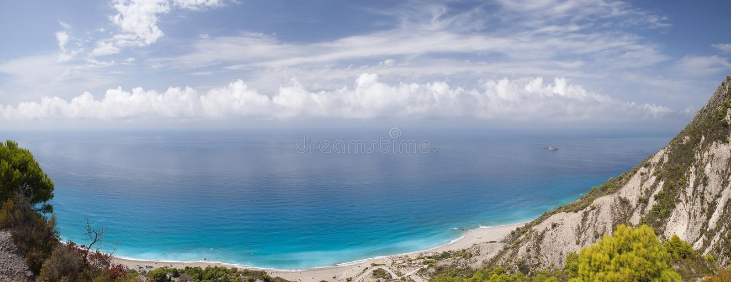 Lefkada-Paradies stockfoto