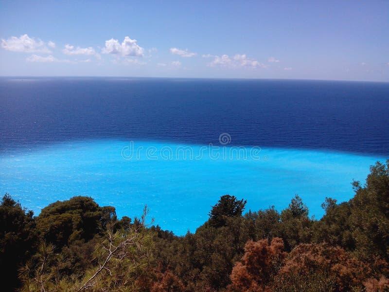 Lefkaseiland Griekenland royalty-vrije stock afbeeldingen