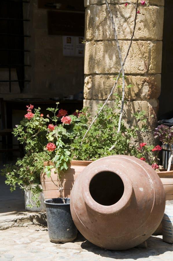 Lefkosia historique Chypre d'architecture de scène de rue photographie stock