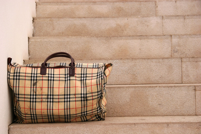 Left bag royalty free stock images