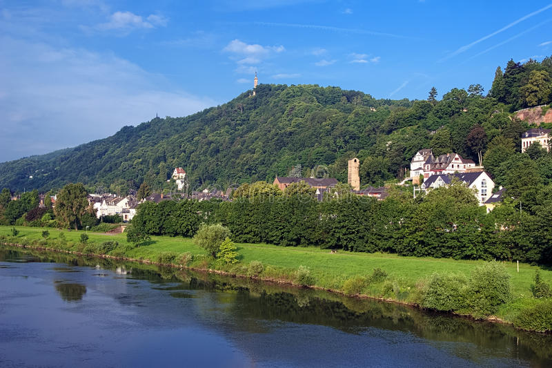 Download The Left Bank Of The Moselle River In Trier Stock Image - Image: 25732901