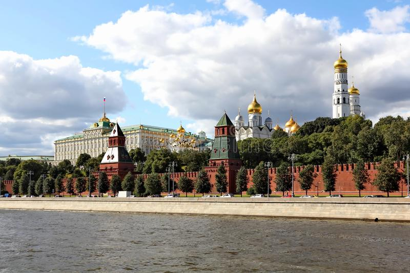Sights of the Moscow Kremlin stock images