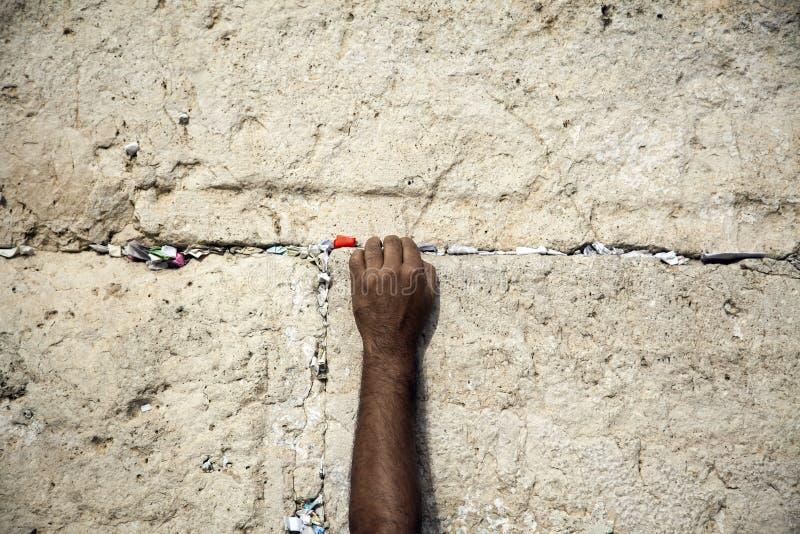 Making a Wish at the Wailing Wall