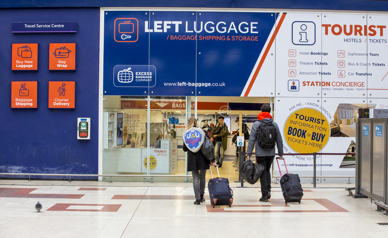 Download Left Luggage editorial stock image. Image of kiosk travel - 69192149 & Left Luggage editorial stock image. Image of kiosk travel - 69192149
