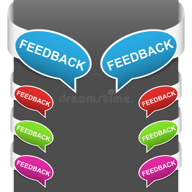 Download Left And Right Side Signs - Feedback Stock Vector - Image: 21210937