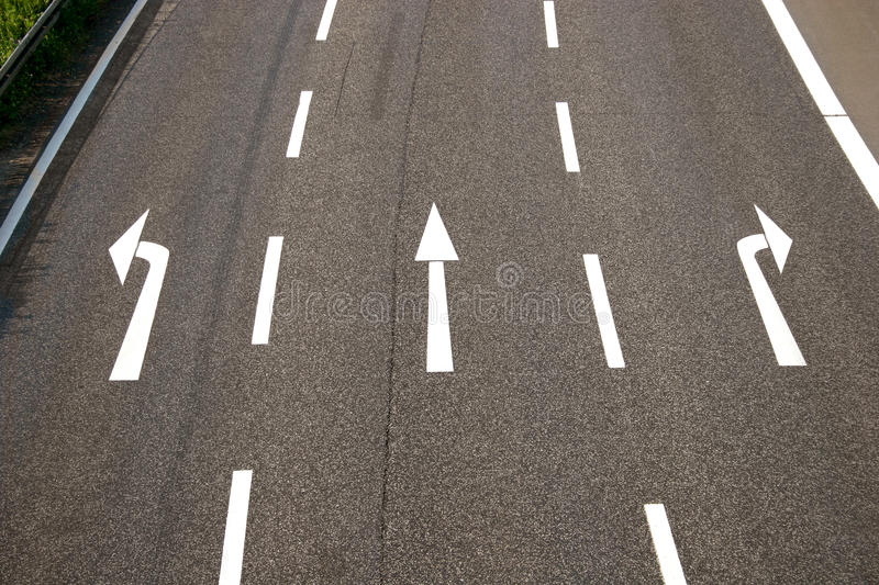 Download Left, straight, right? stock image. Image of abstract - 23660573