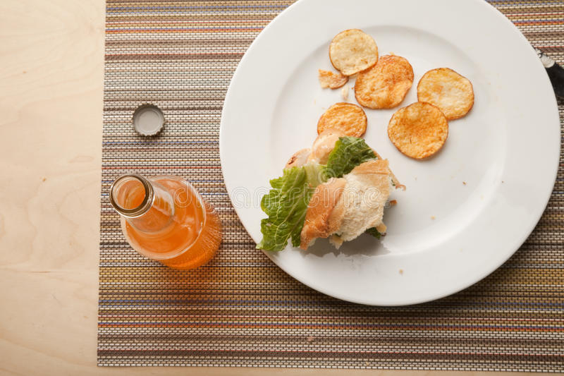 Download Leftovers from lunch stock photo. Image of countertop - 10967056