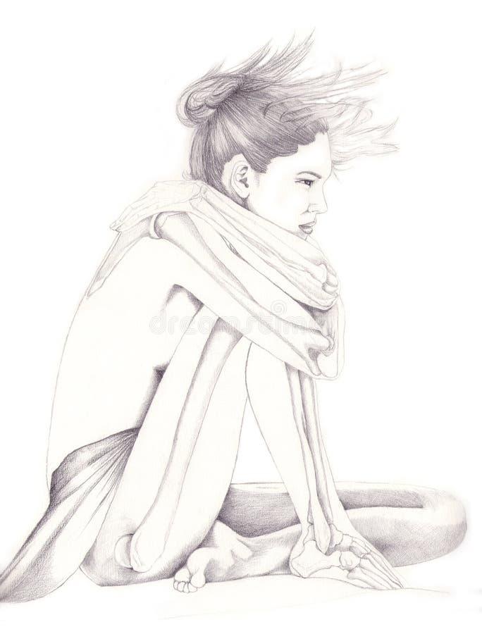 Leg and arm bones vector illustration