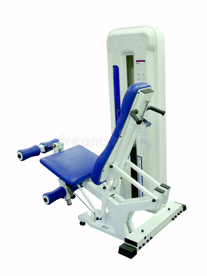 Download Leg extension Machine stock photo. Image of heavy, over - 70828