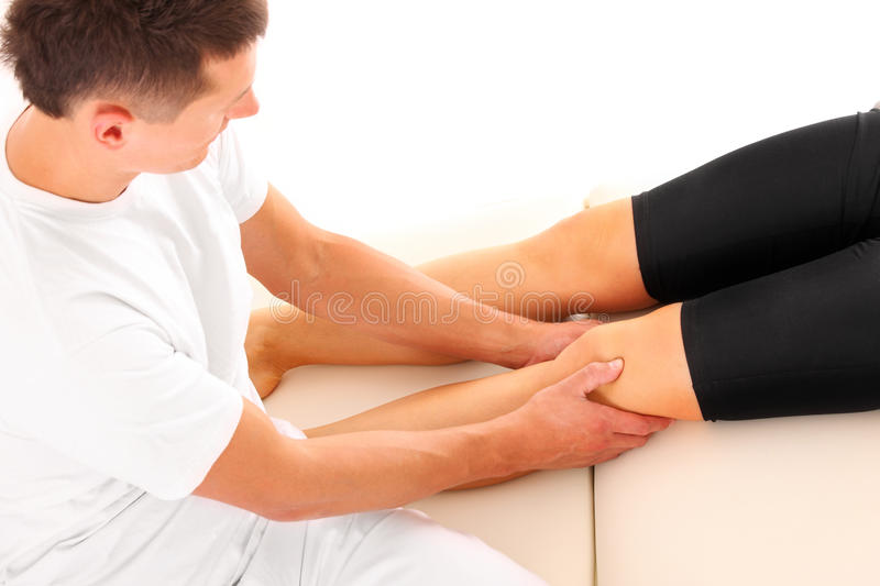Download Leg massage stock photo. Image of athletic, orthopedic - 23546136