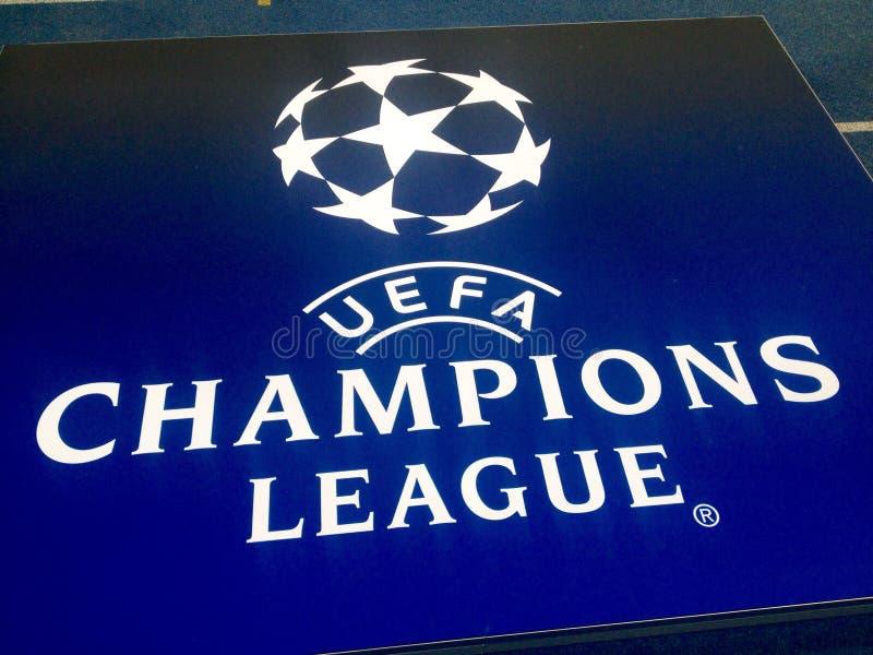 Lega dell'UEFA Champions' immagini stock libere da diritti