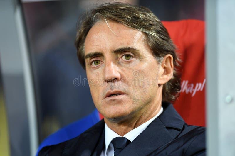 Lega Polonia - Italia di nazioni dell'UEFA immagini stock
