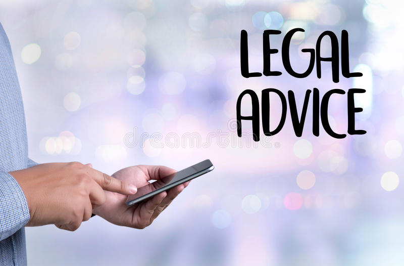 LEGAL ADVICE (Legal Advice Compliance Consulation Expertise Help. ) royalty free stock photos