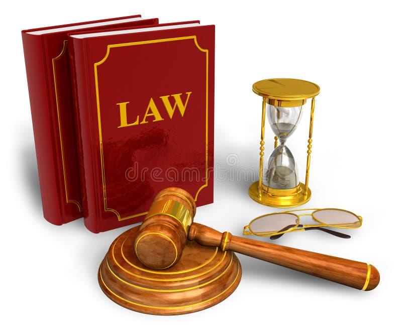 Legal or bidding concept stock illustration