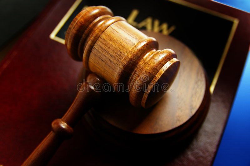 Download Legal Book And Gavel Stock Image - Image: 8394411