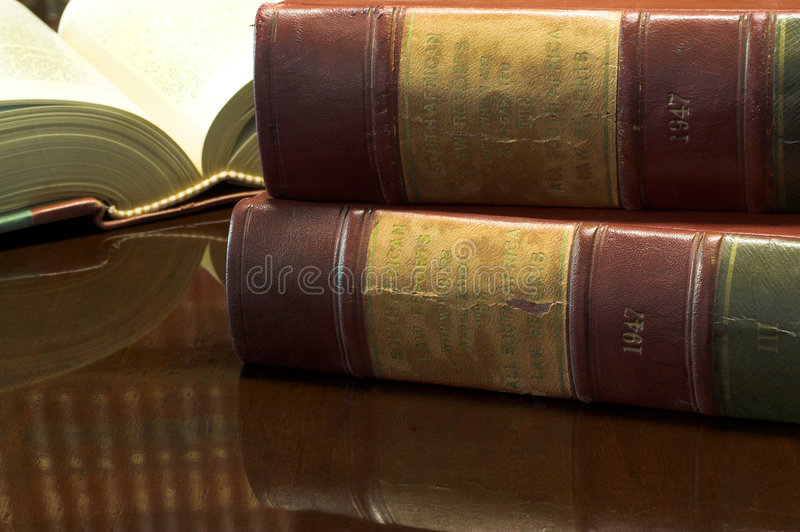 Legal books #26 stock image
