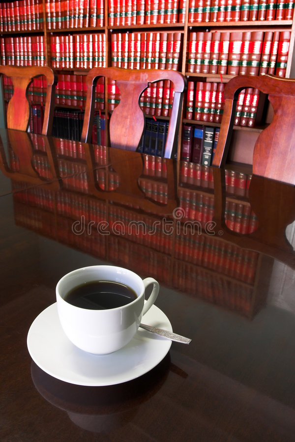 Legal Coffee Cup #2 royalty free stock images