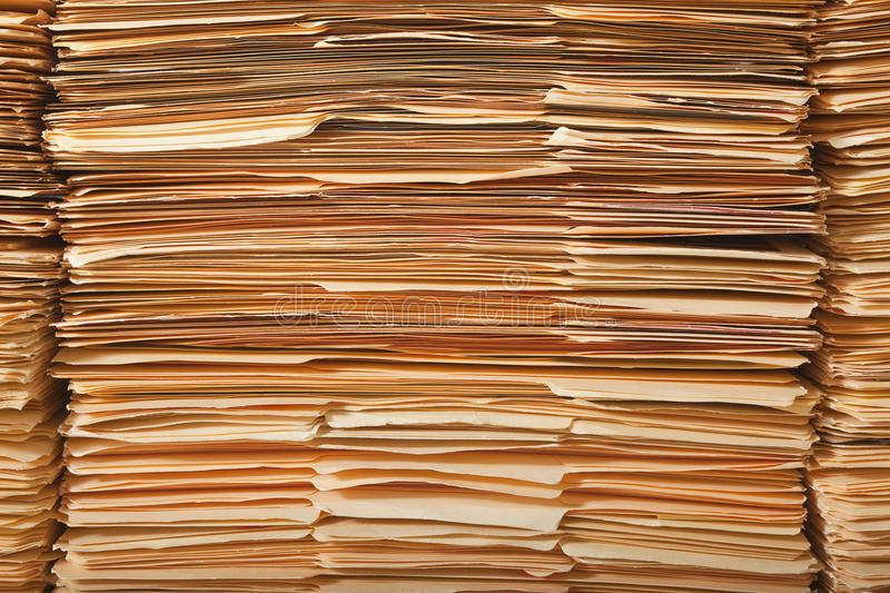 Download Legal File Pile stock image. Image of messy, paper, work - 19179221