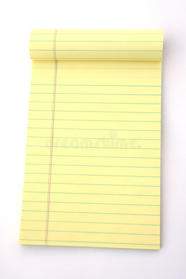 Legal Pad royalty free stock photography