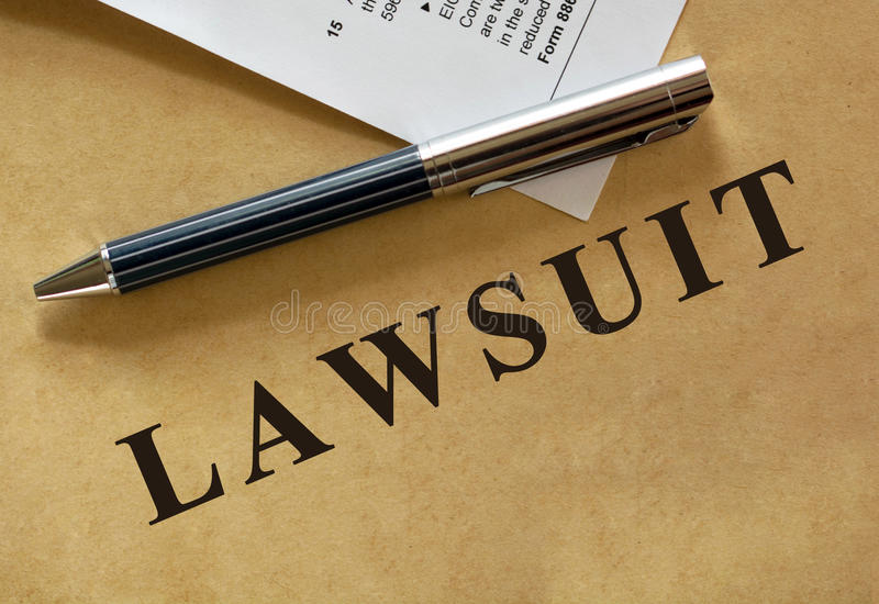 Legal series stock image
