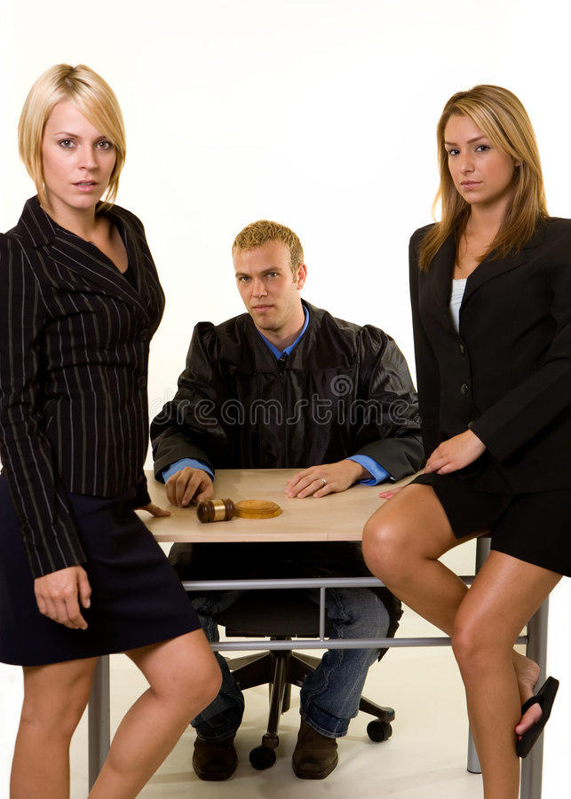 Legal team royalty free stock photography