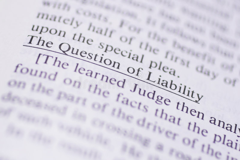 Legal Terms #1 royalty free stock photo