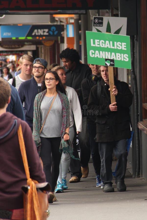 Legaliseer Cannabis! stock afbeelding