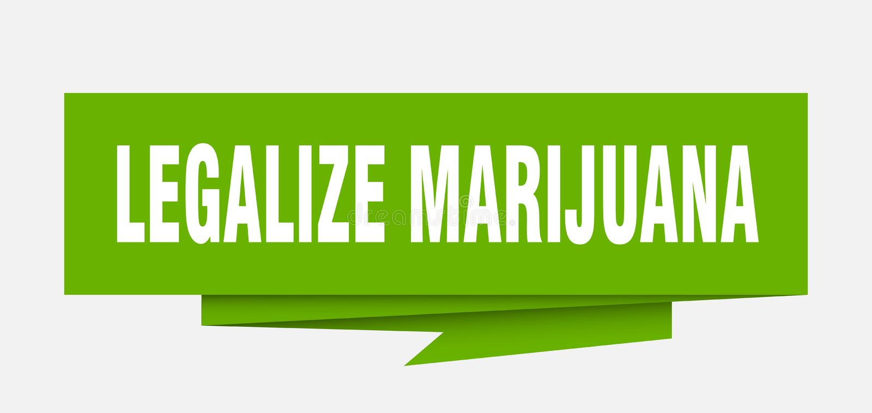Legalisieren Sie Marihuana vektor abbildung