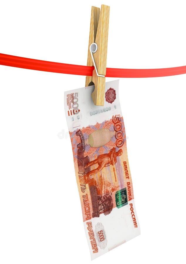 Legalização da lavagem de dinheiro dos fundos Pena, eyeglasses e gráficos ilustração royalty free