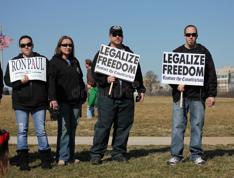 Legalize Freedom Editorial Stock Photo