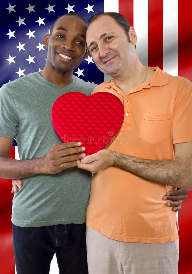 Legalizzazione del matrimonio gay fotografia stock libera da diritti