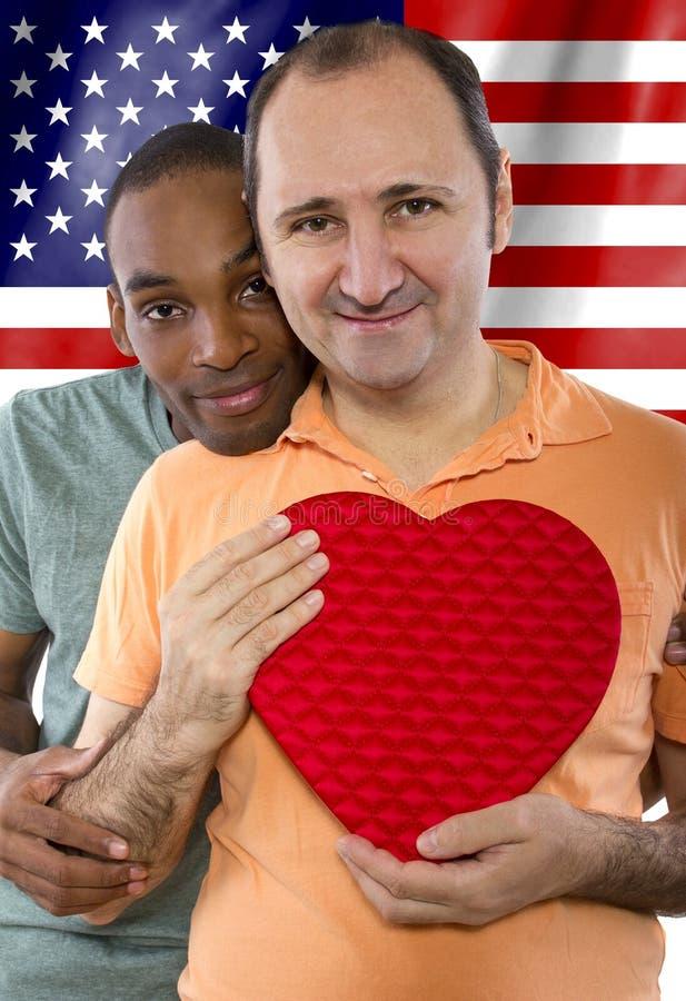 Legalizzazione del matrimonio gay fotografie stock