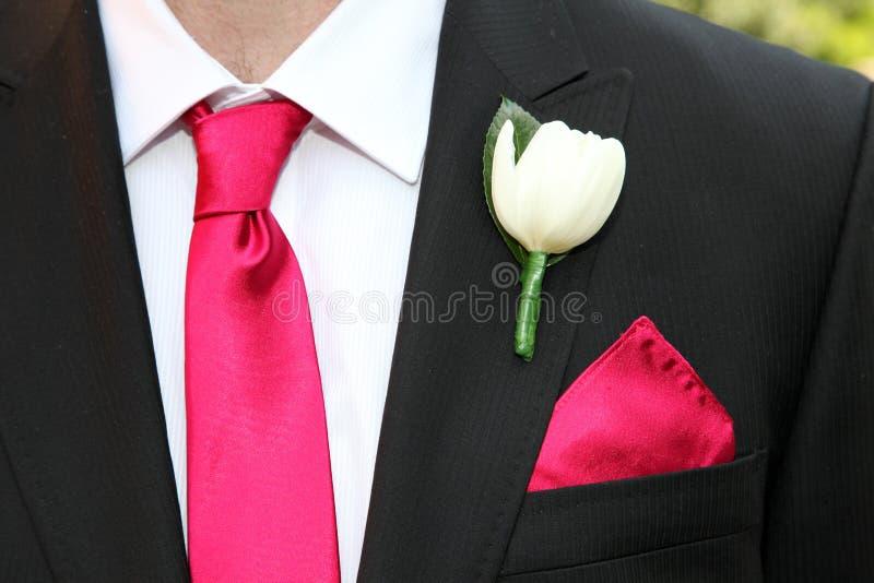 Legame e fiore immagine stock