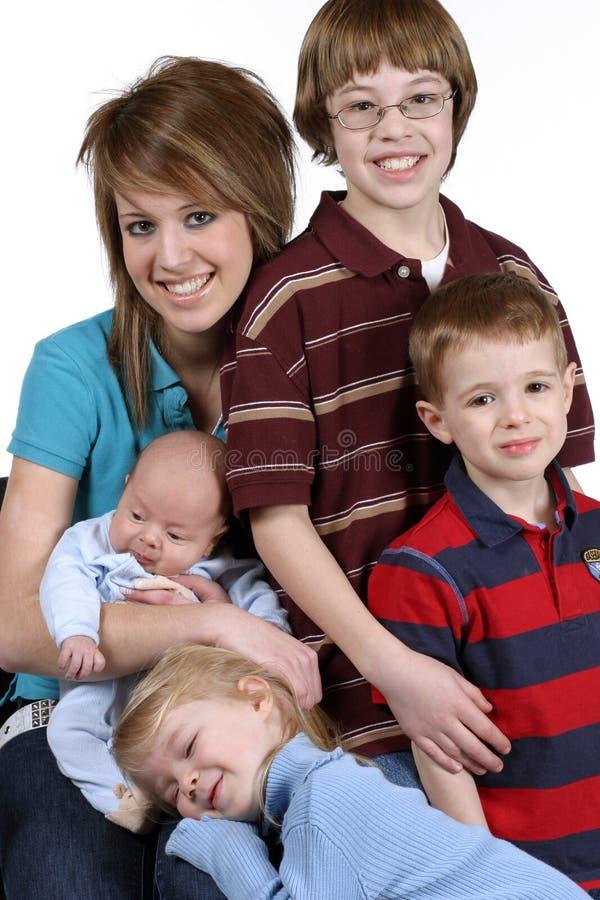 Legami di famiglia fotografia stock