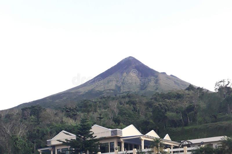 Legazpi Mayon vulcano pH. Legazpi Mayon vulcano. Up, happy, feet, sightings, nature royalty free stock photo