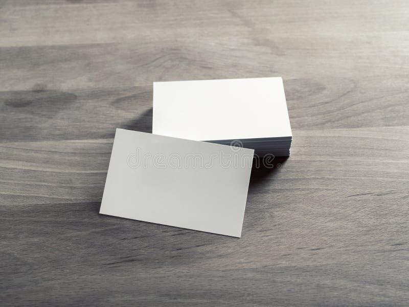 Lege adreskaartjes royalty-vrije stock fotografie