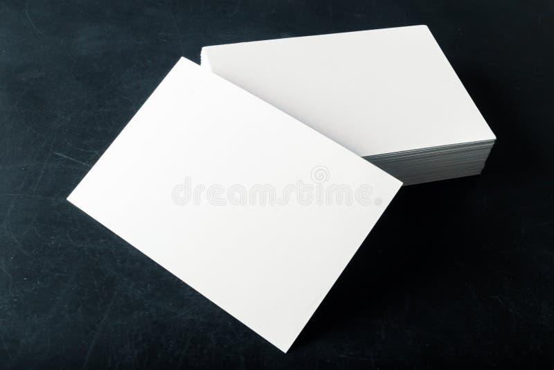 Lege adreskaartjes royalty-vrije stock foto