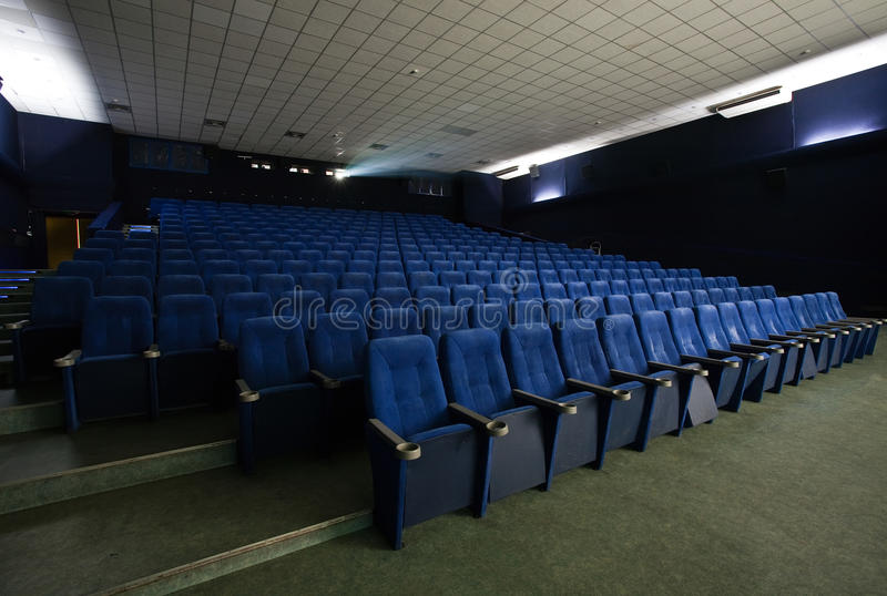 Lege bioscoop royalty-vrije stock foto